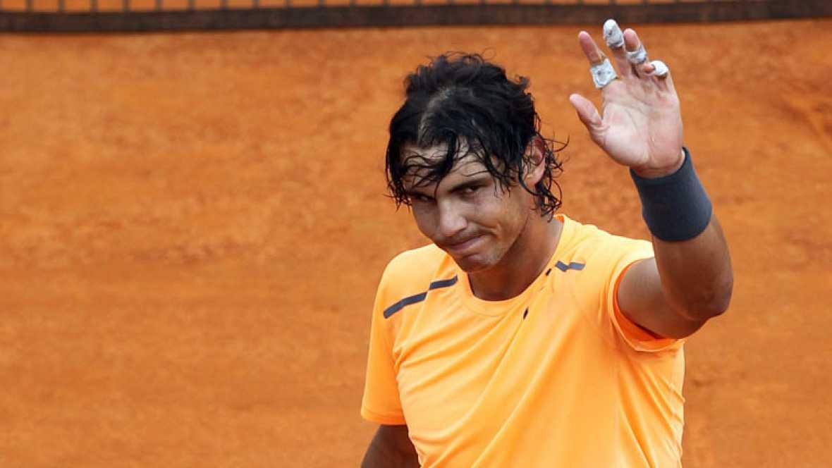 El tenista español Rafa Nadal certificó su presencia en los  cuartos de final de Montecarlo, tercer Master Series de la temporada  y torneo fetiche del manacorí, tras imponerse por la vía rápida (6-1  y 6-1) al kazajo Mikhail Kukushkin en una hora de