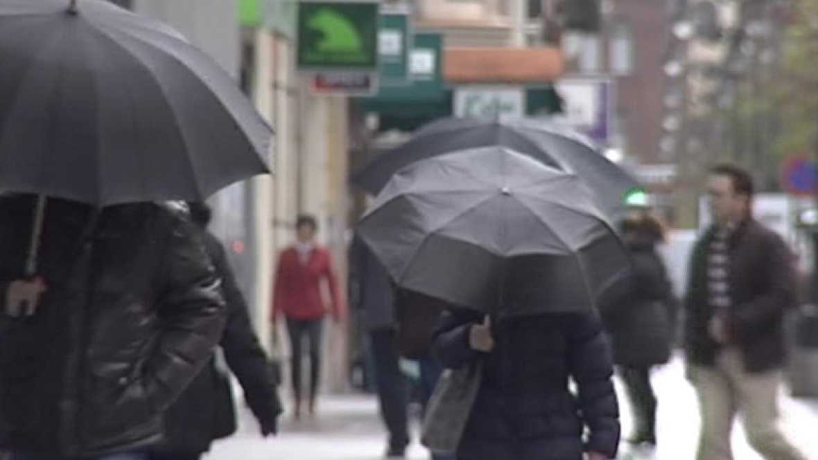 Precipitaciones débiles en el oeste de Aragón y Pirineos