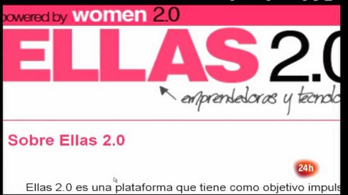 Cámara abierta 2.0 - Comunidades de mujeres emprendedoras, El blog El Ojo de Darwin y Bimba Bosé en 1minuto.COM - 21/04/12 - Ver ahora