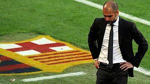 """Guardiola: """"Felicito al Madrid por la victoria y por la Liga"""""""