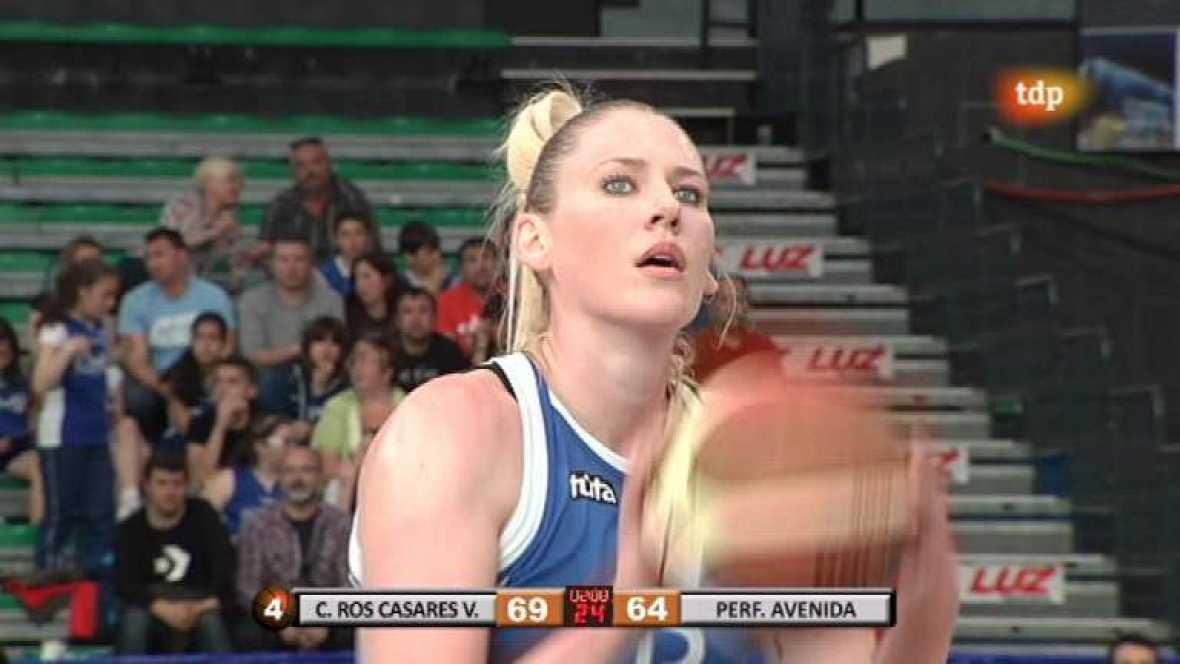Baloncesto  - Liga femenina: Ciudad Ros Casares-Perfumerías Avenida - 21/04/12 - ver ahora