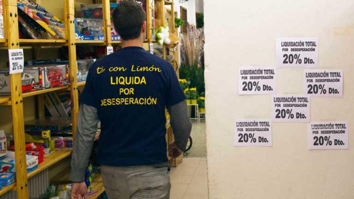 La economía española vuelve a entrar en recesión