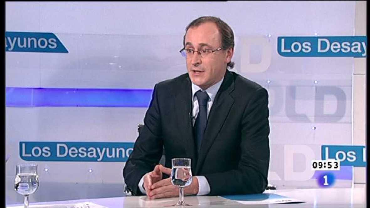 Los desayunos de TVE - Alfonso Alonso, portavoz del PP en el Congreso - Ver ahora