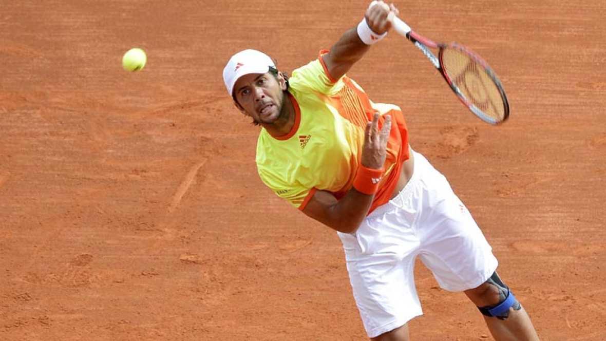 """El tenista español se ha mostrado """"contento"""" después de derrotar 6-3 y 6-1 al belga Steve Darcis, clasificándose para octavos de final."""
