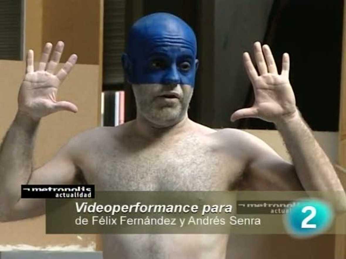 Performance de Félix Fernández y Andrés Senra para el programa Metrópolis (2009)