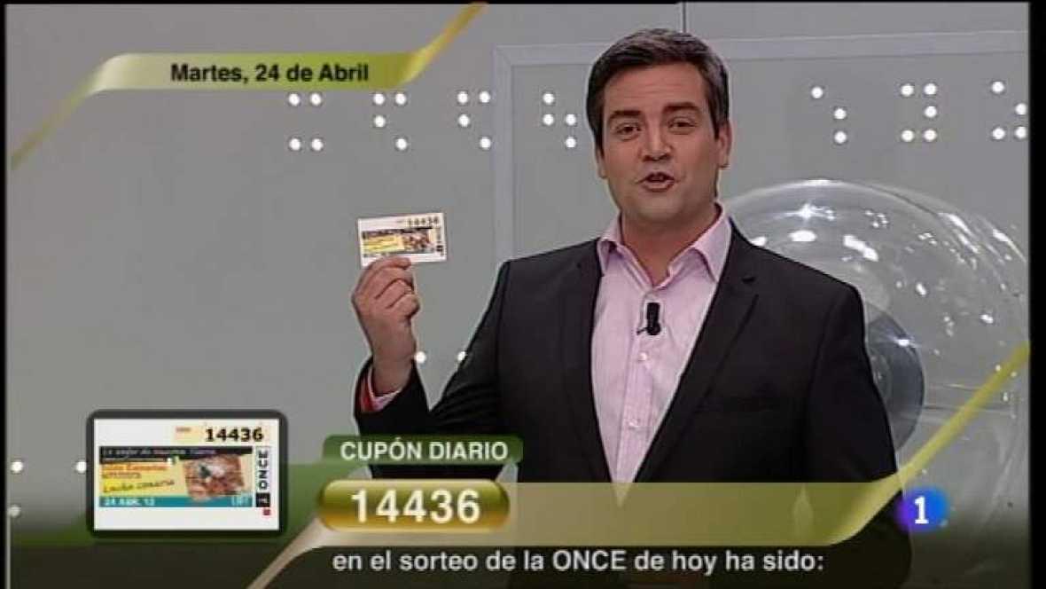 Sorteo ONCE - 24/04/12 - Ver ahora