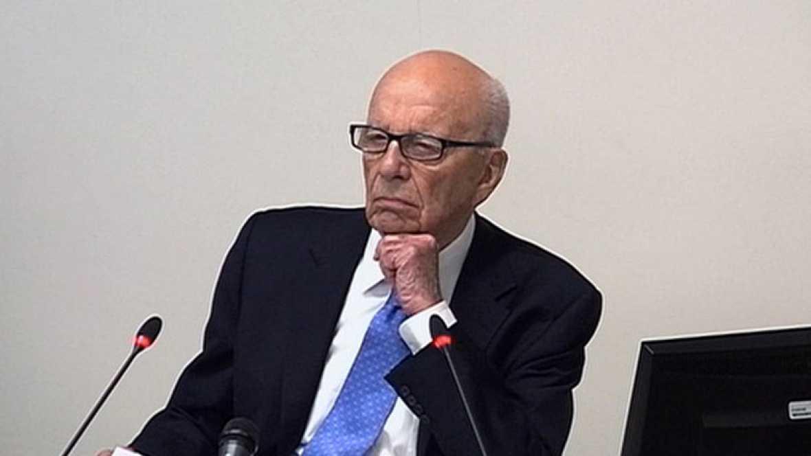 Murdoch declara ante la comisión que investiga la ética de la prensa