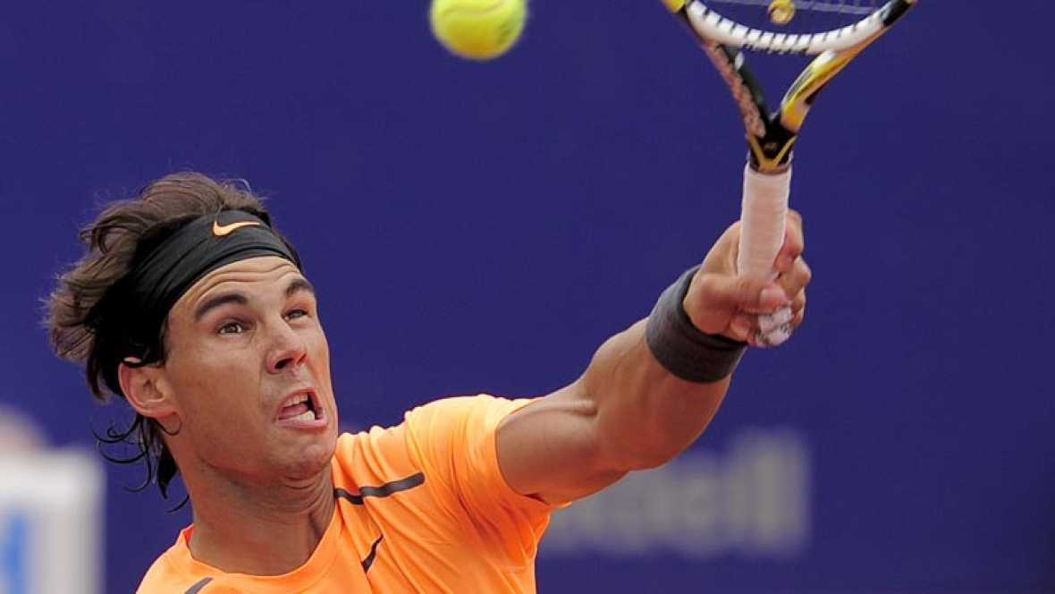 El primer favorito del Conde de Godó se muestra cauto sobre sus posibilidades en el torneo, después de vencer con comodidad a Guillermo García López.