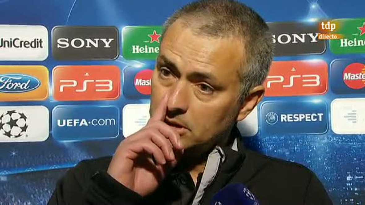 """Mourinho: """"Me duele ver que la gente está triste"""""""