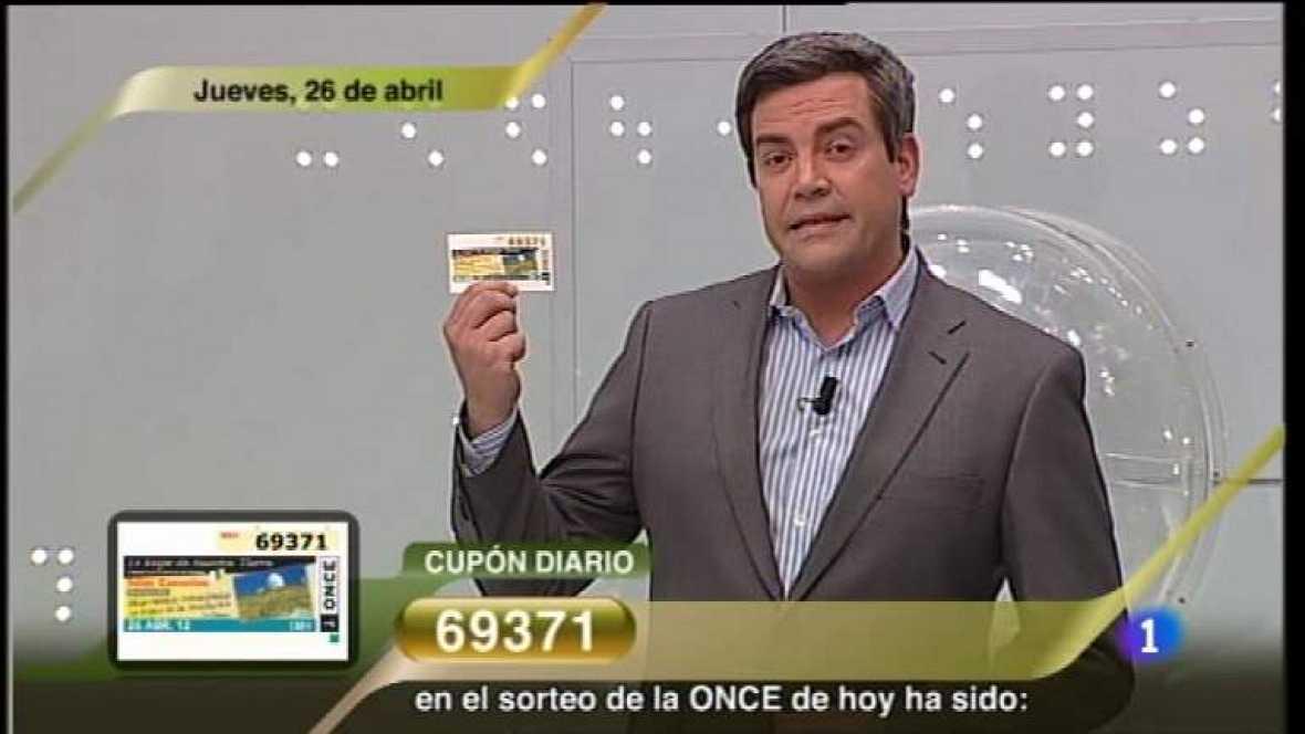 Sorteo ONCE - 26/04/12 - Ver ahora