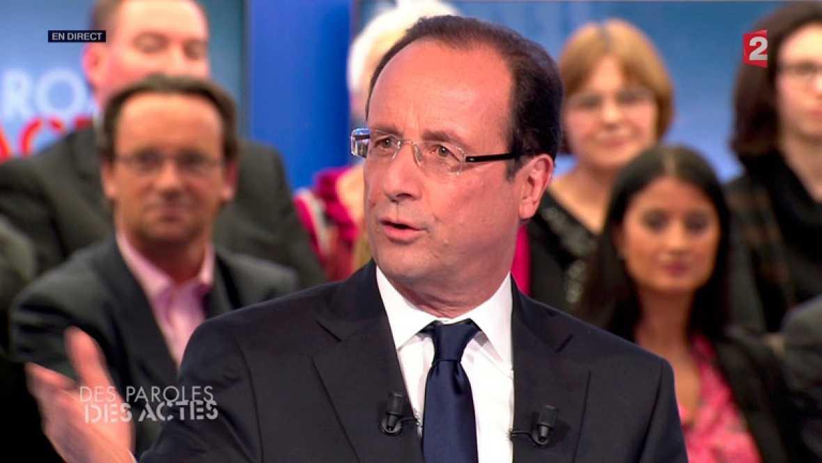"""François Hollande: """"Merkel no puede decidir por toda Europa"""""""