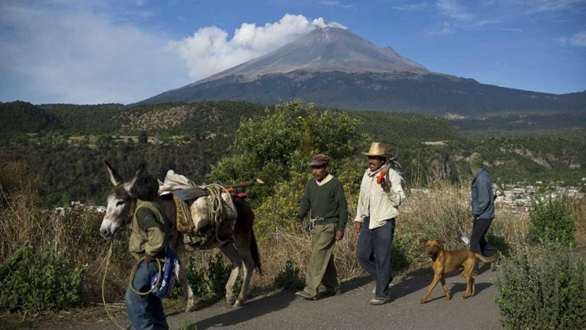 Miedo por una posible erupción del Popocatepetl