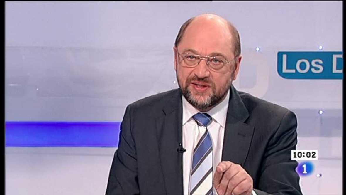 Los desayunos de TVE - Martín Schulz, presidente del Parlamento europeo - Ver ahora