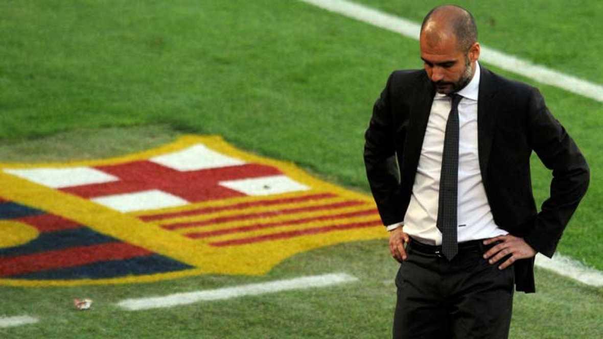 El entrenador del FC Barcelona ha conquistado trece titulos en los poco más de 4 años que lleva en el club. Tras quedar fuera de la final de la Champions y tener mínimas opciones de ganar la Liga, Pep Guardiola todavía puede conquistar la Copa del Re
