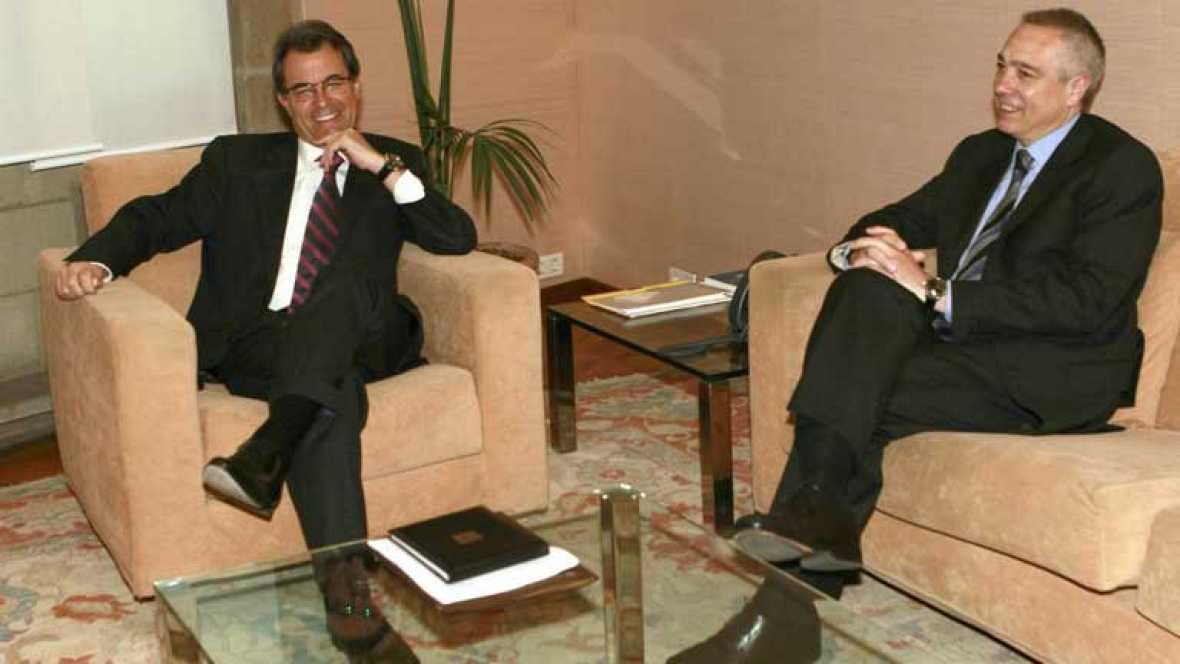 CIU y PSC intentarán lograr una propuesta de pacto fiscal