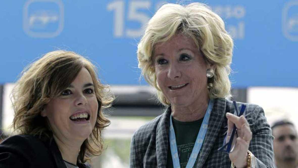 Soraya Sáenz de Santamaría critica la herencia recibida del PSOE