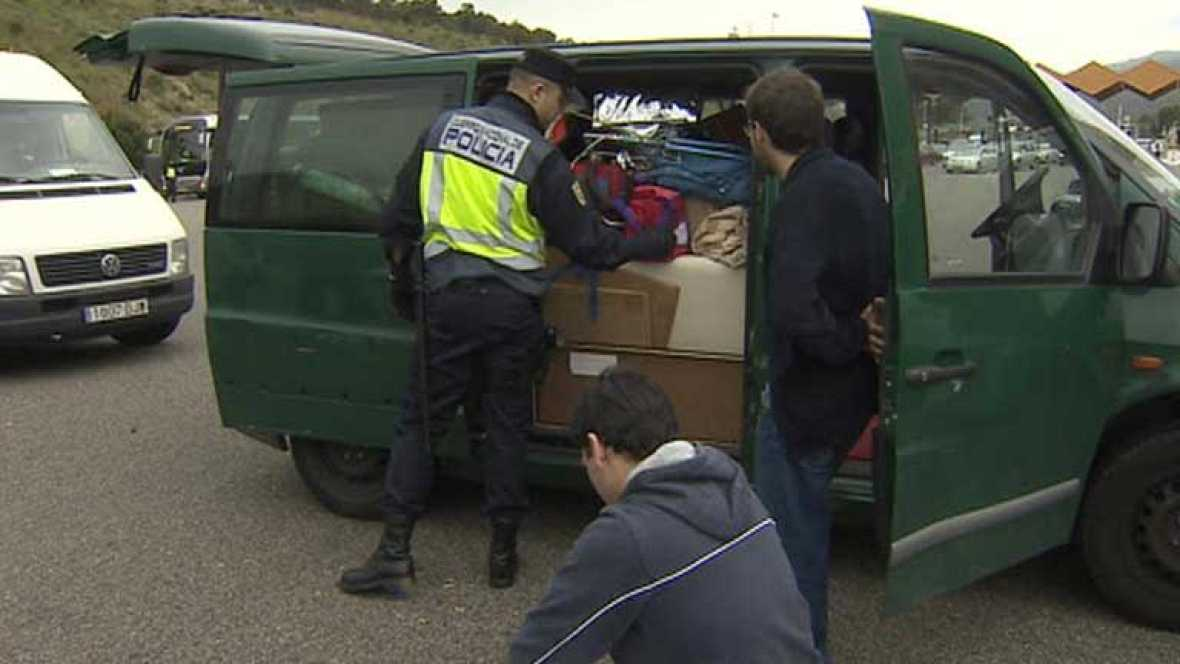 Suspendido en España el Tratado de Schengen