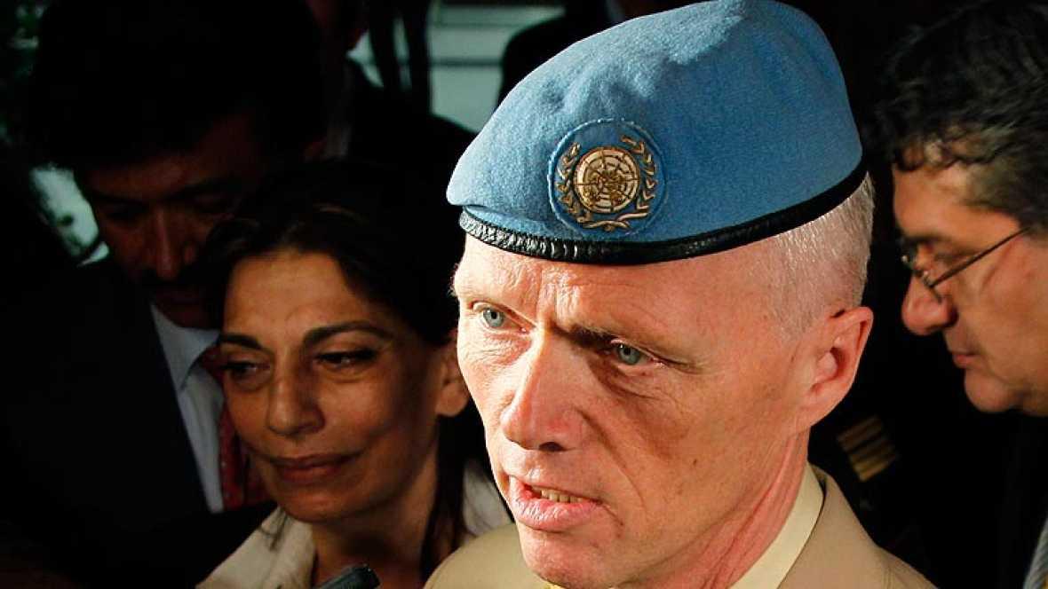 Aterriza en Damasco el jefe de los observadores de la ONU