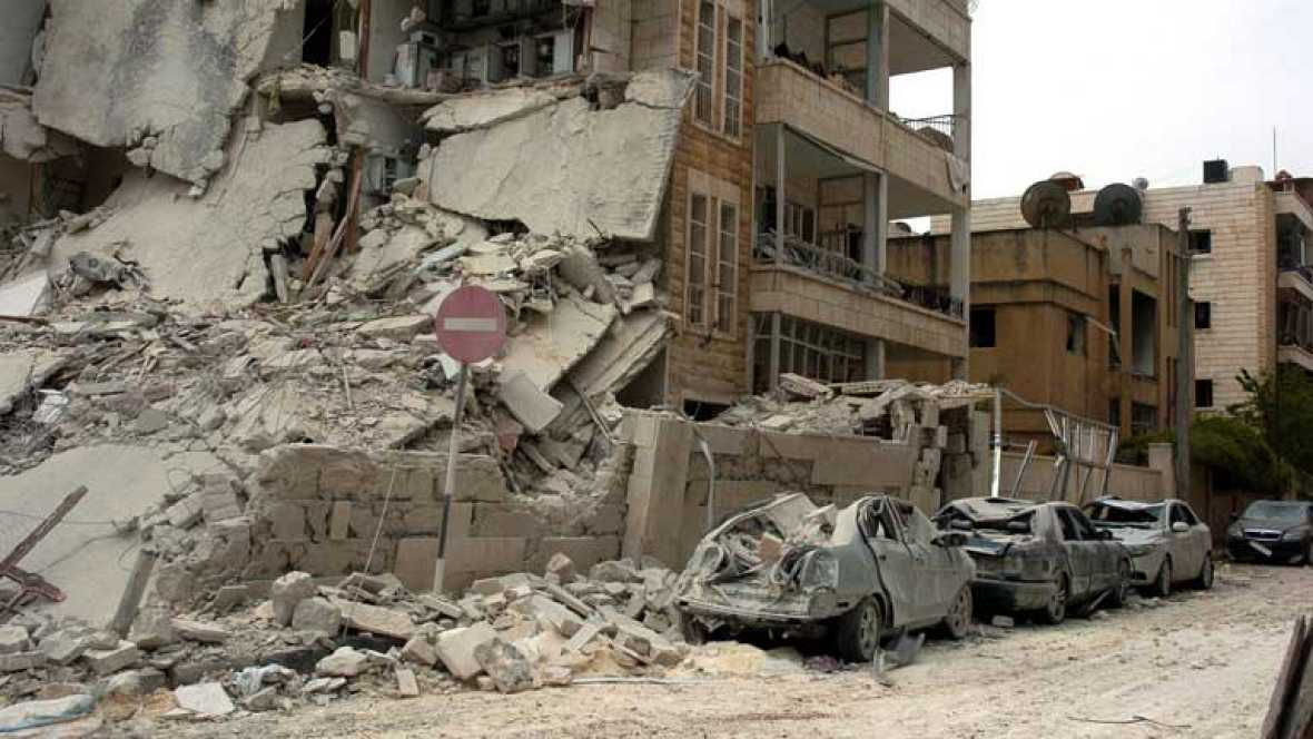 En Siria, dos potentes explosiones dejan nueve muertos y un centenar de heridos