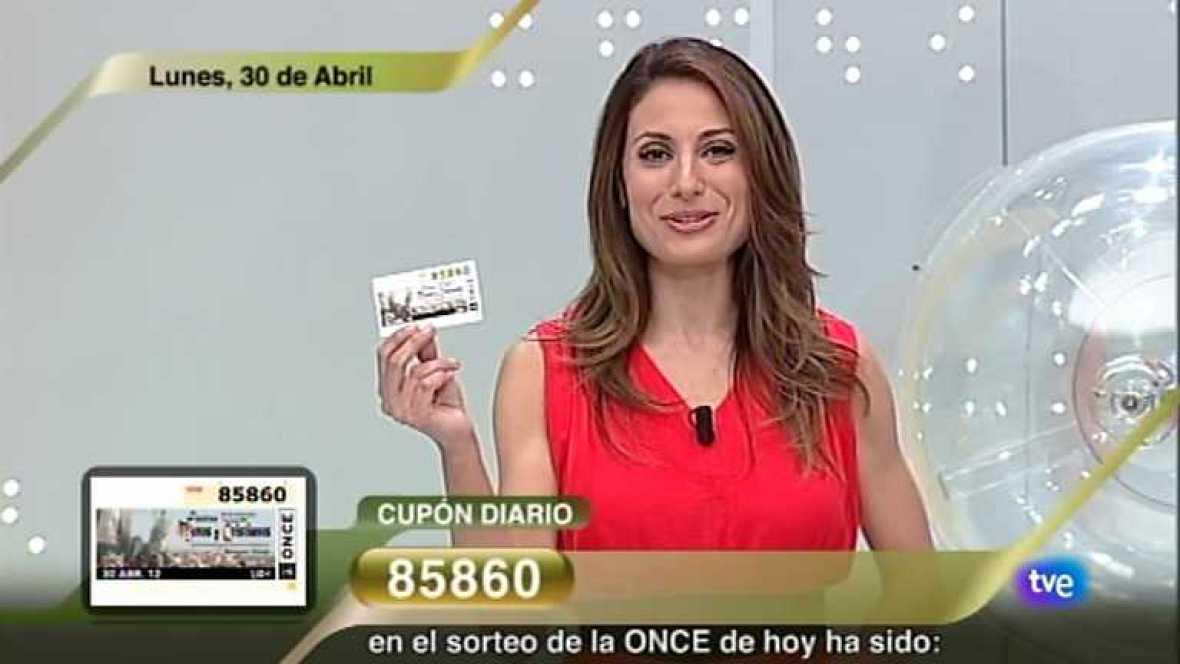 Sorteo ONCE - 30/04/12 - Ver ahora