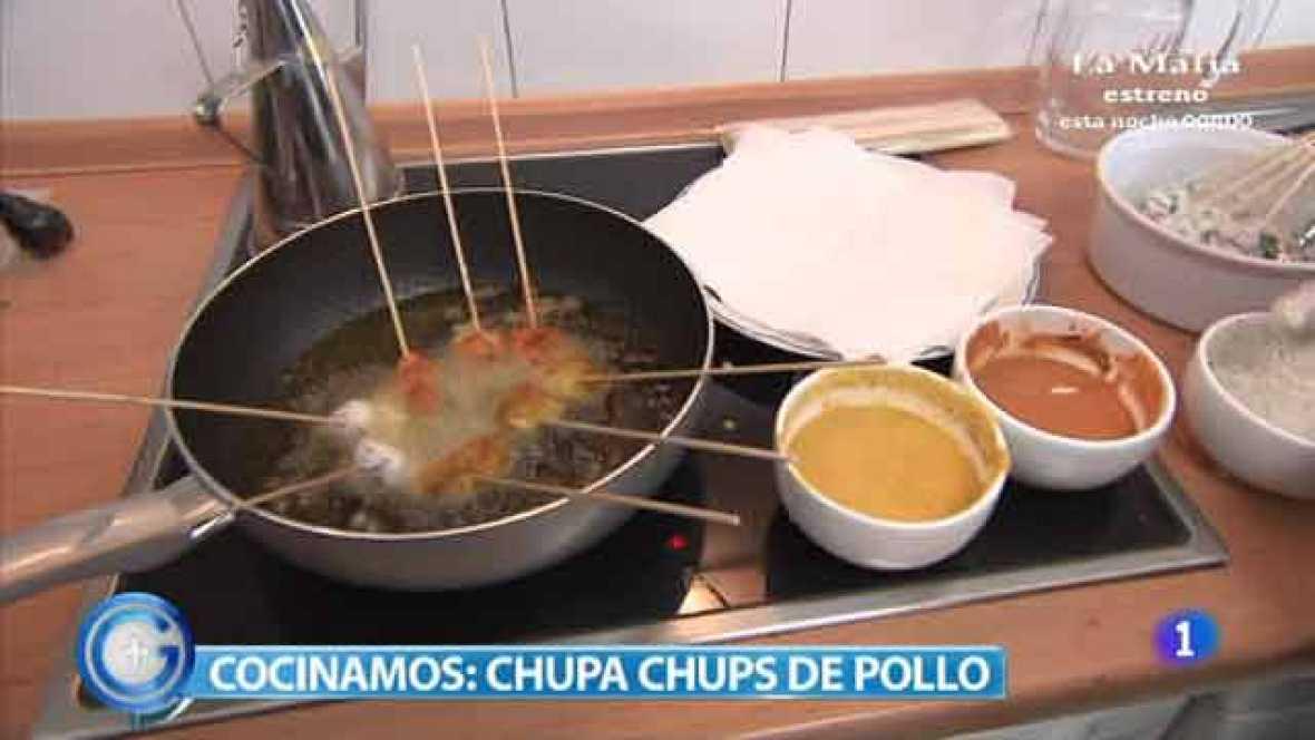 Chupa Chups de pollo, una receta apta para celíacos