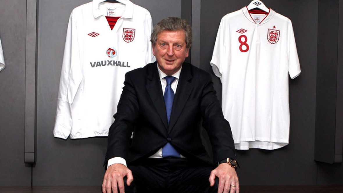 Roy Hodgson, nombrado nuevo seleccionador inglés