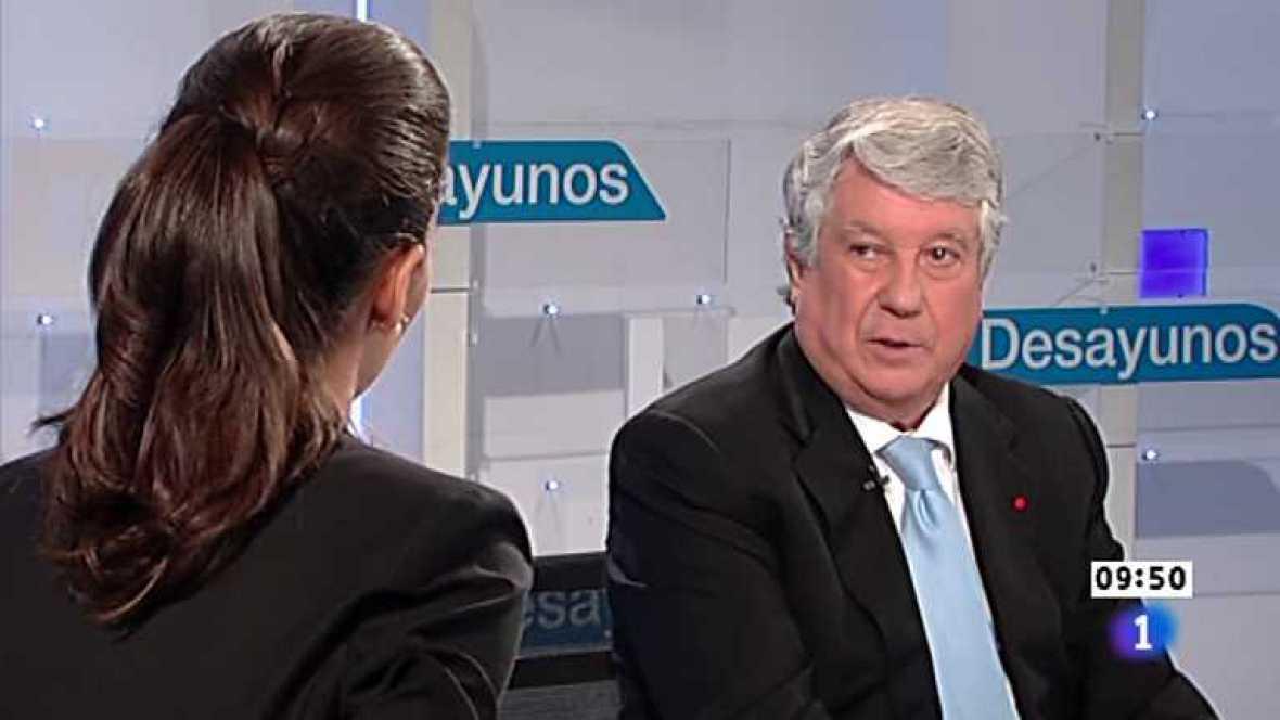 Los desayunos de TVE -  Arturo Fernández,  vicepresidente de la CEOE y presidente de la patronal madrileña CEIM - Ver ahora