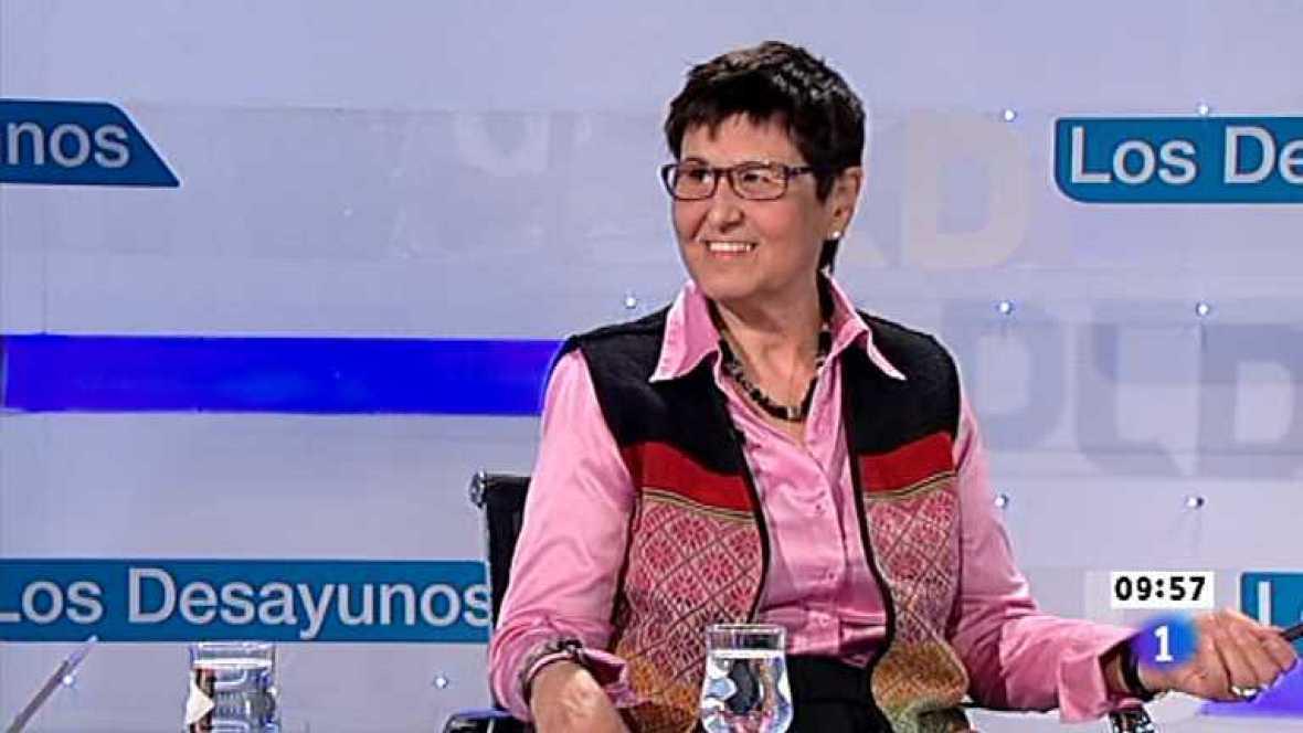 Los desayunos de TVE - Mercedes Ruiz-Giménez, Pta.Coordinadora de ONG para el Desarrollo-España  - Ver ahora