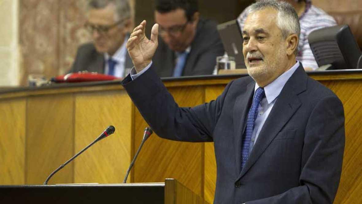 Griñán sale reelegido como presidente de la Junta de Andalucía