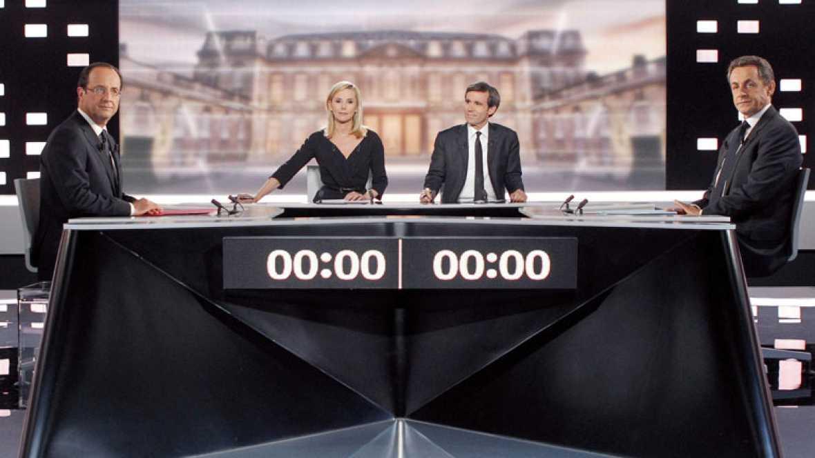 Expectación en Francia tras el debate de ayer por saber quien apoya al candidato centrista