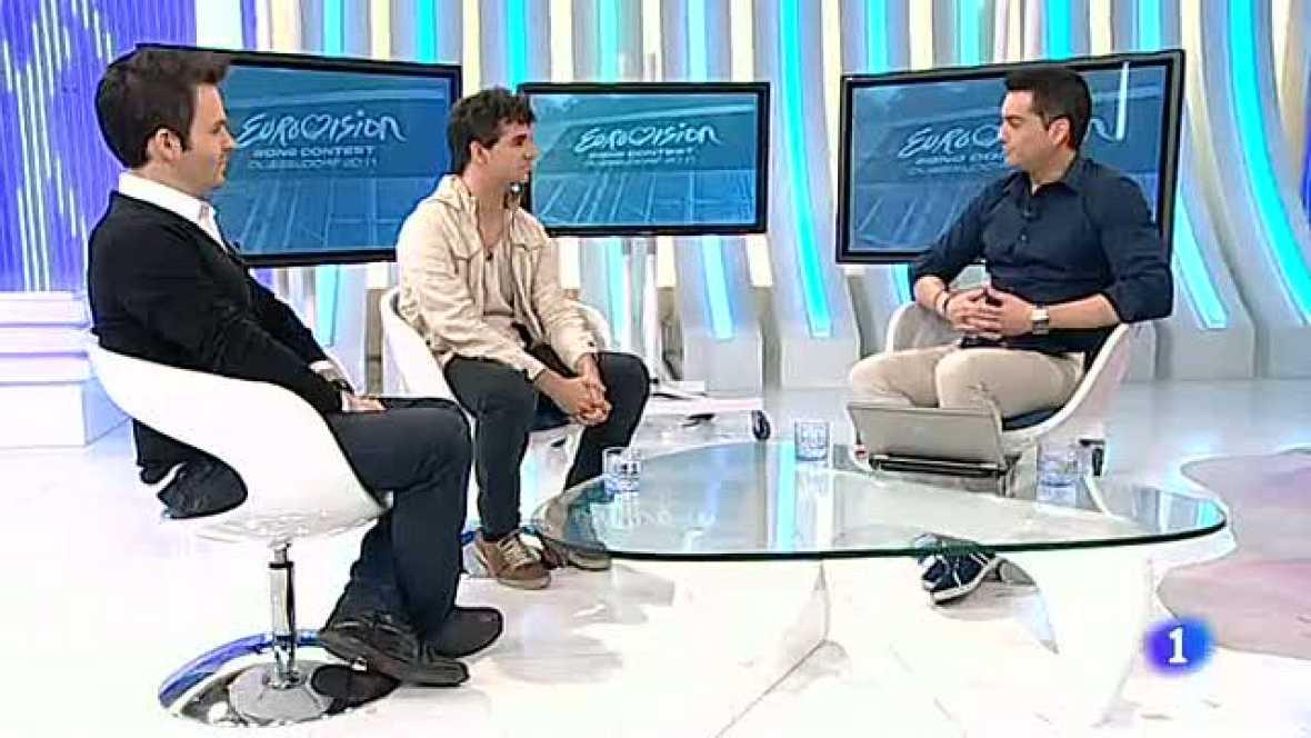 """Más Gente - Álex Jaumont y José Hernández """"Luka"""" hablan sobre Eurovisión 2012"""