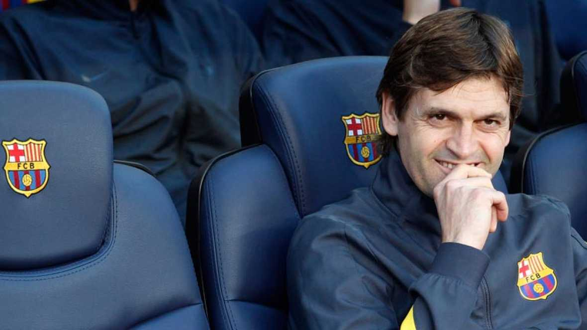 El segundo entrenador del Barcelona, sucesor de Pep Guardiola, anotó un gol como jugador del Lleida frente al conjunto azulgrana entrenado por el portugués.