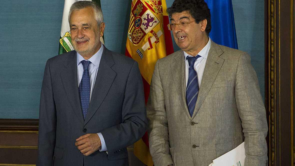 Griñán tomará este sábado posesión de su cargo y anunciará el nuevo gobierno PSOE-IU