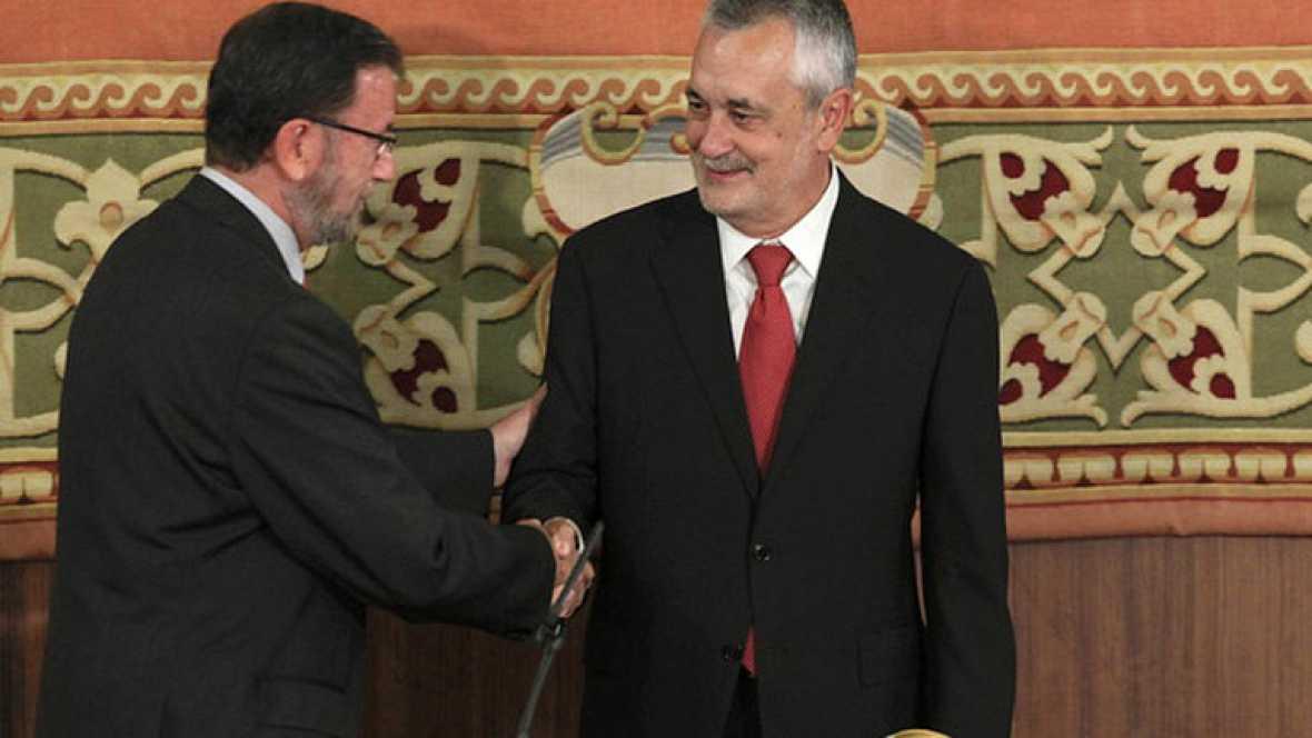 José Antonio Griñán ha tomado posesión como presidente de la Junta de Andalucía