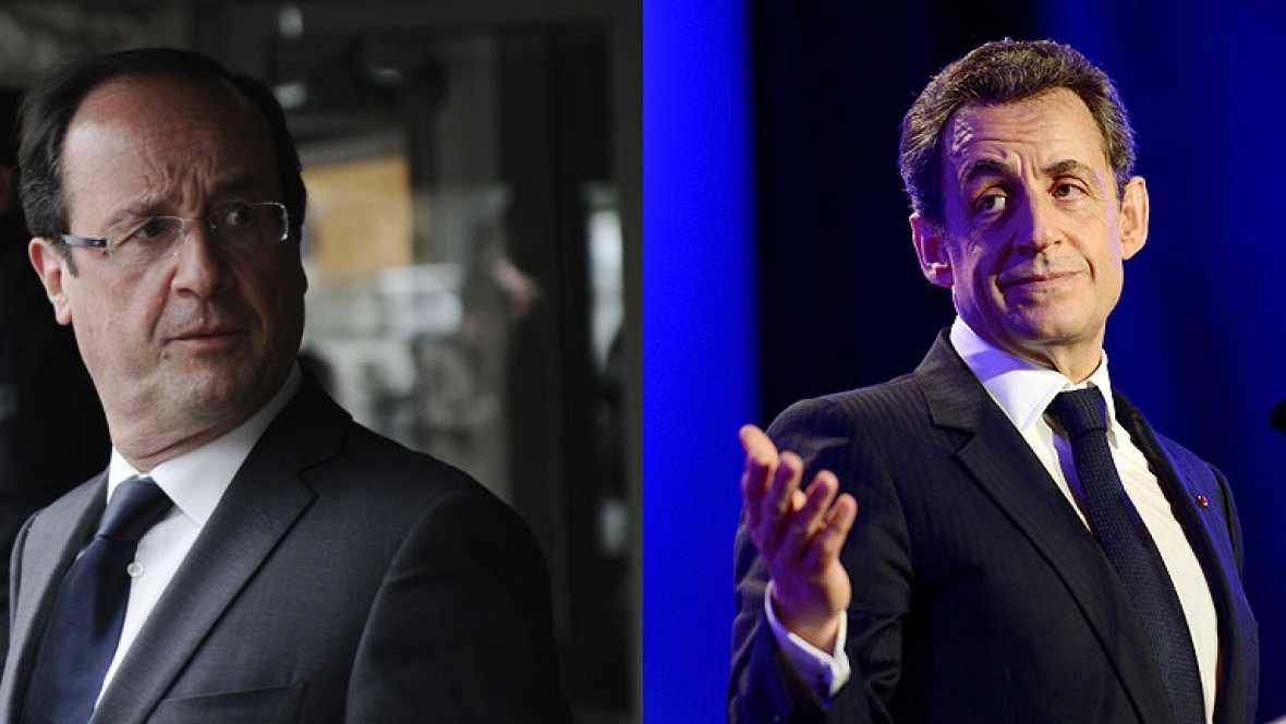 Francia celebra este domingo la segunda vuelta de las presidenciales con Hollande como favorito