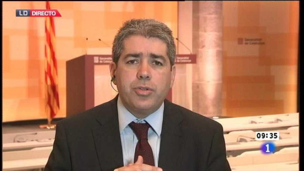 Los desayunos de TVE - Francesc Homs, portavoz del gobierno catalán - Ver ahora
