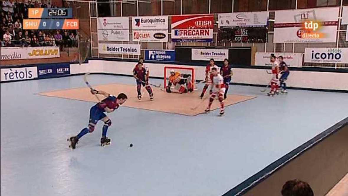 Hockey sobre patines - Liga española: Shum Grupo Maestre - FC Barcelona - Ver ahora