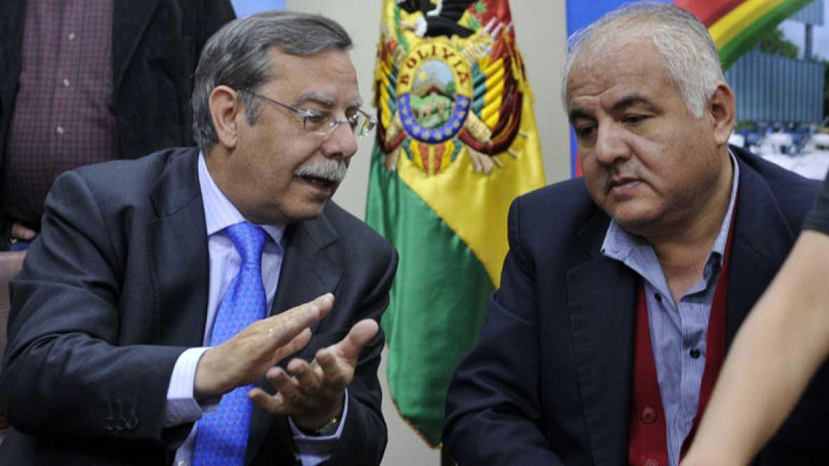 El presidente de Red Electríca está en Bolivia para negociar la nacionalización de la compañía