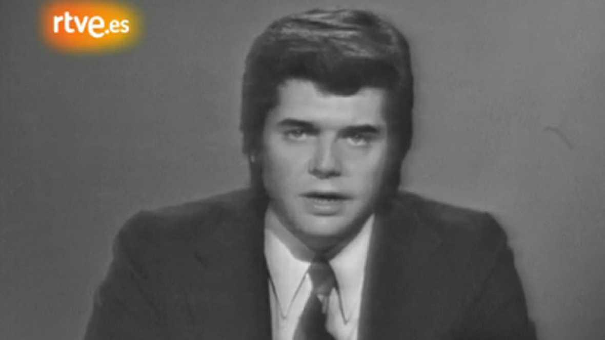 Un telediario de 1974 en TVE