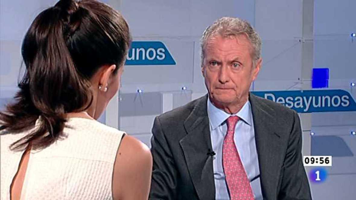 Los desayunos de TVE - Pedro Morenés, ministro de Defensa - Ver ahora