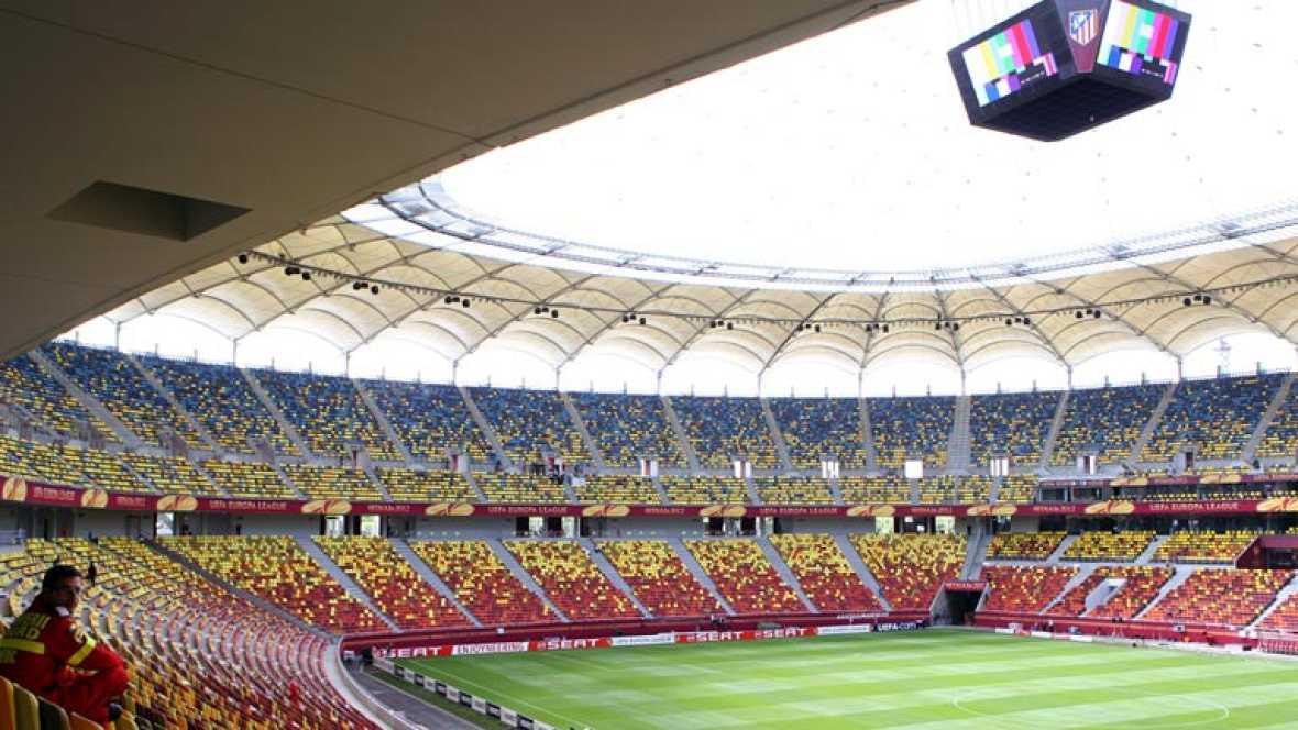 Bucarest ya vive la final española