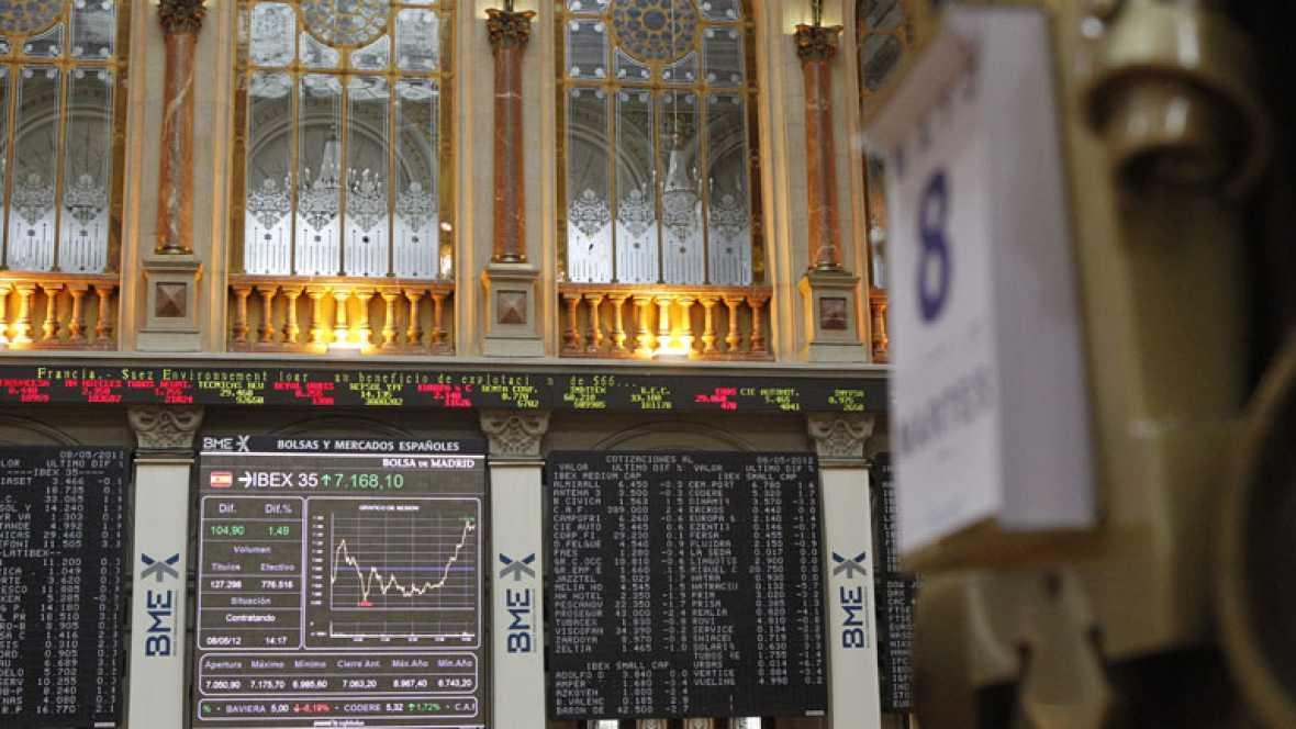 Bankia cae más de un 4%