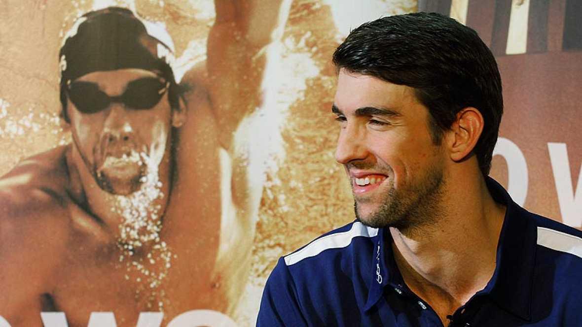 Phelps dejará la natación profesional tras Londres 2012