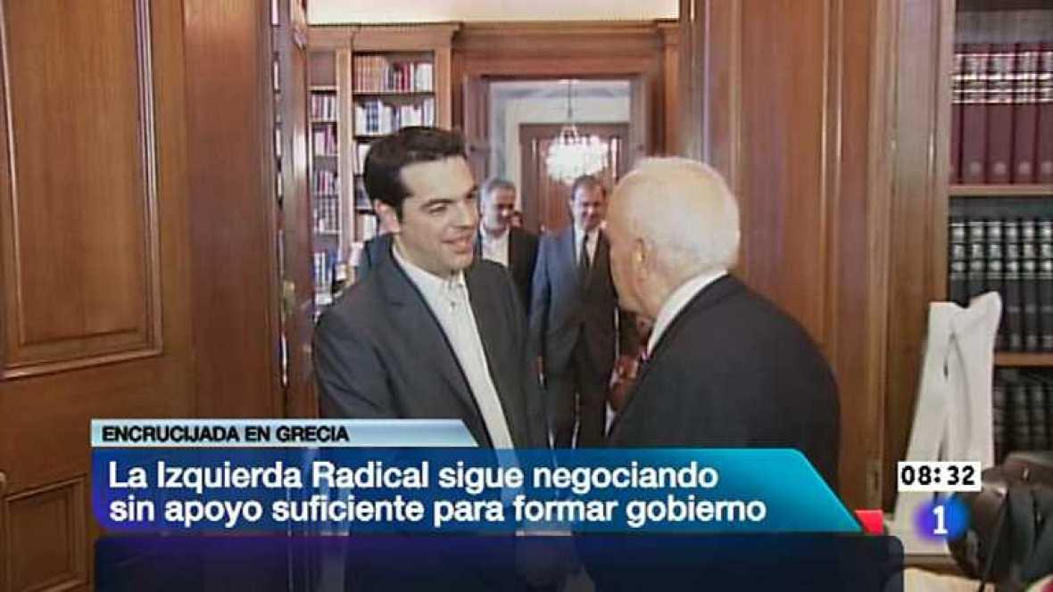 Telediario - 8.30 horas - 09/05/12 - Ver ahora