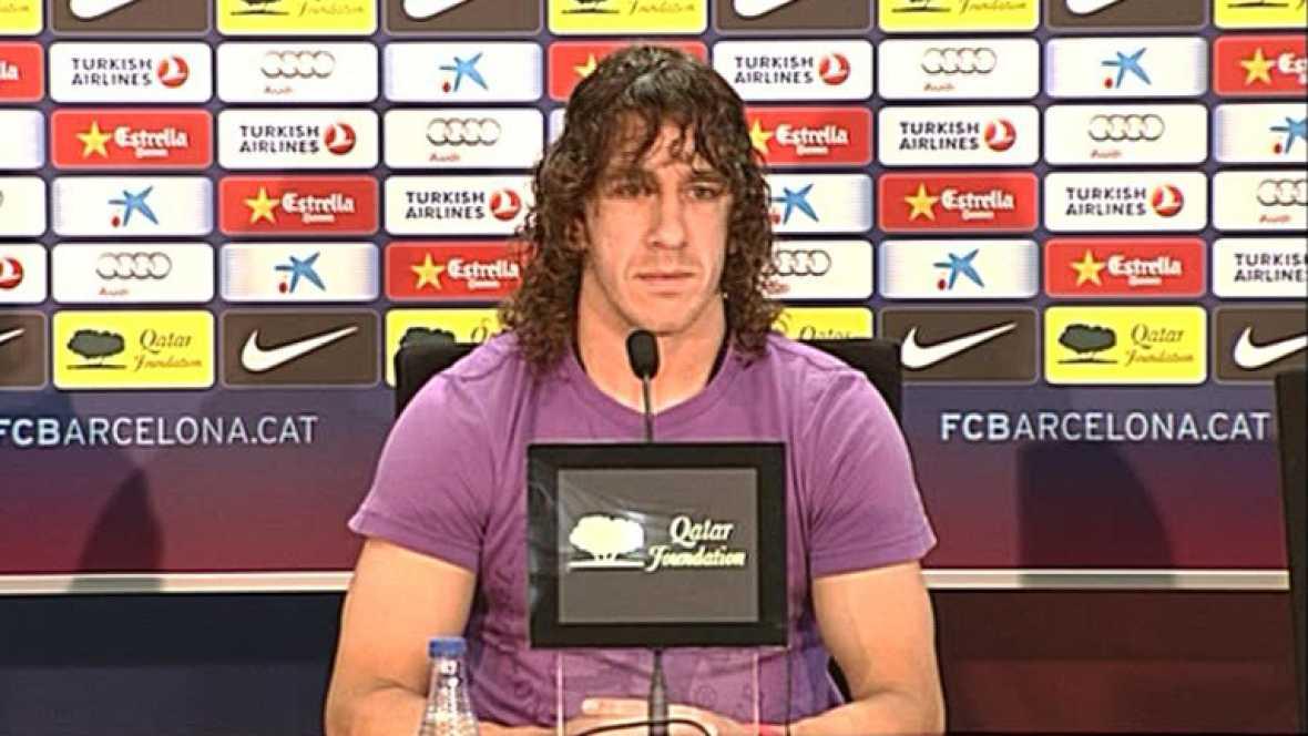 """Puyol: """"Creo que es imposible estar en la Eurocopa"""""""