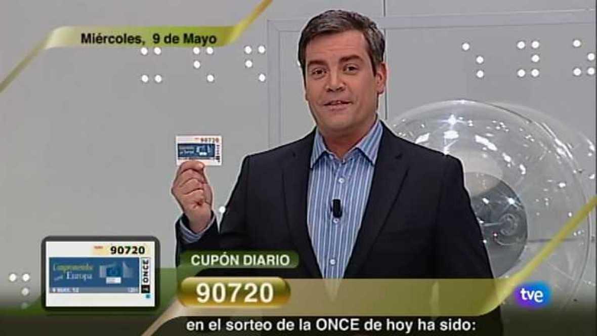 Sorteo ONCE - 09/05/12 - Ver ahora