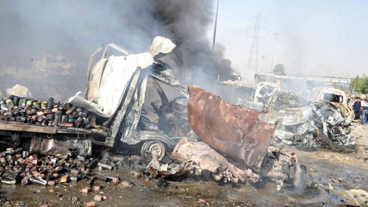 Dos explosiones causan un número indeterminado de heridos en Damasco