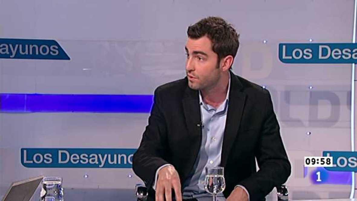 Los desayunos de TVE - Ben Rattray, fundador de change.org - Ver ahora