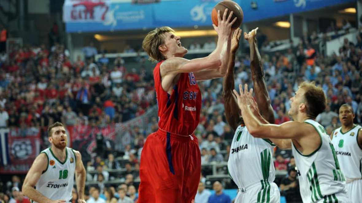 El CSKA le gana al Panathinaikos in extremis