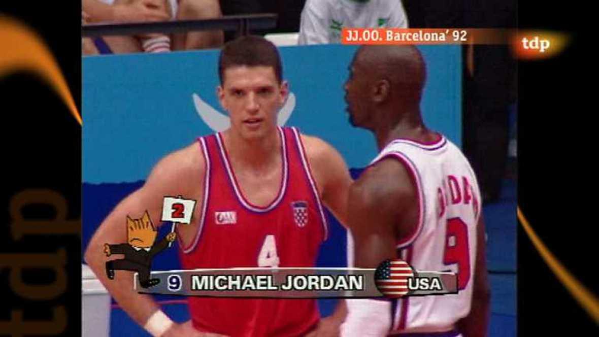 Londres en juego - Barcelona 1992 - Baloncesto: EEUU-Croacia - Ver ahora